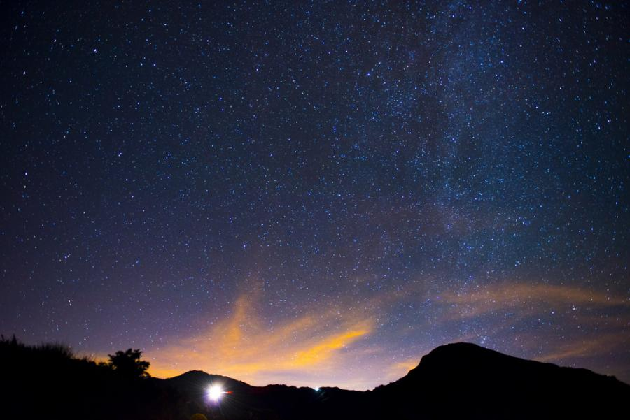 When a rural retreat becomes a stargazing hotspot