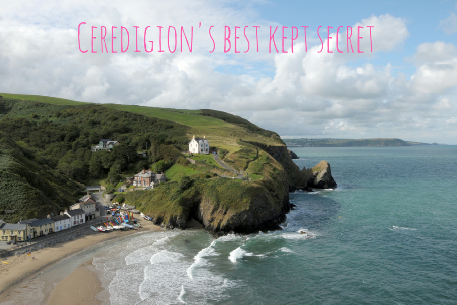 Escape the tourist trail in Llangrannog