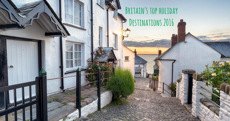Britain's hottest destinations in 2016, and we're not talking about the weather