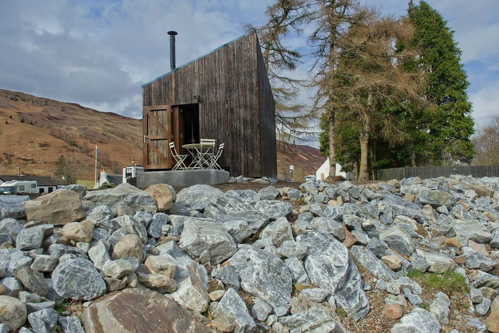 Book a bothy for off-grid holidays