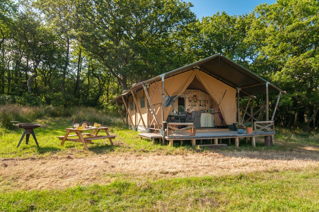 Safari tents are great for off-grid holidays
