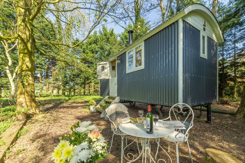 Shepherd's Hut perfect for off-grid holidays