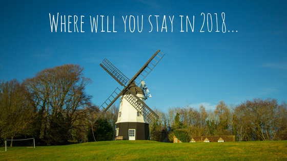 Quirky holiday cottages - where will you stay in 2018