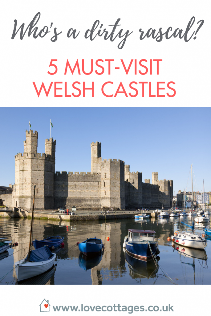 5 must-visit welsh castles perfect family attractions for days out with the kids while on a family holiday in Wales