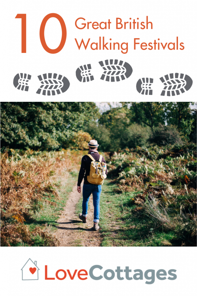 Pedometers at the ready! Won't you come with us as we wander, wend and weave our way along these great British walking festivals?